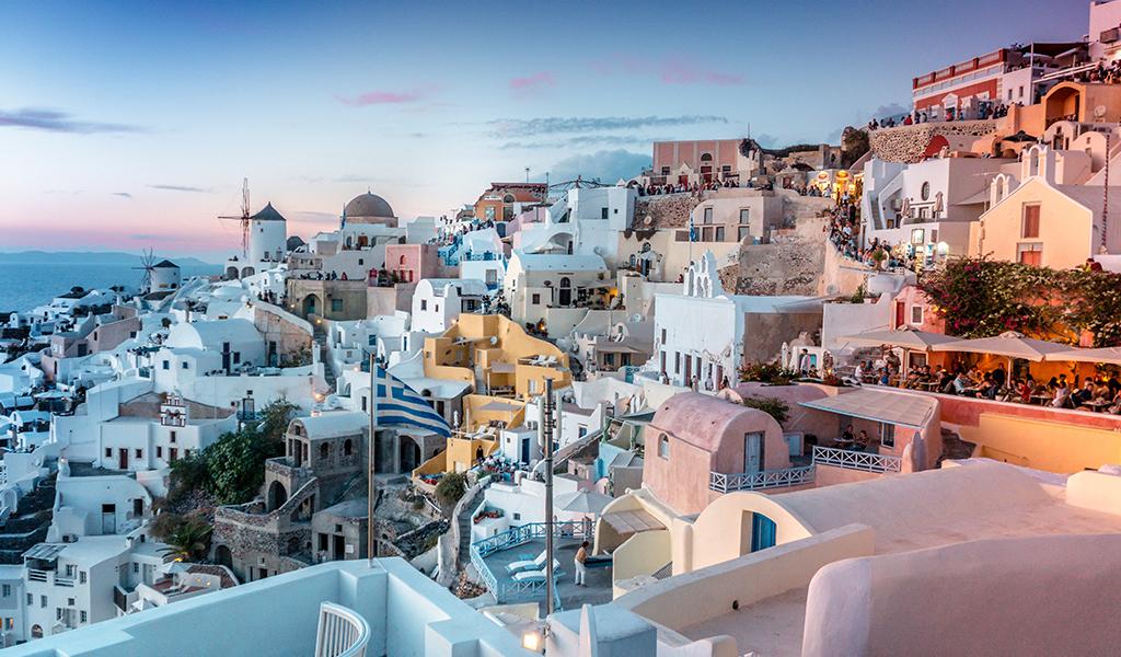 Holidays Lounge Romantic Getaway Santorini